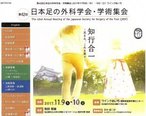 第42回日本足の外科学会